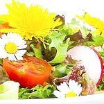 ดอกไม้ก็นำมาปรุงและกินเป็นอาหารได้